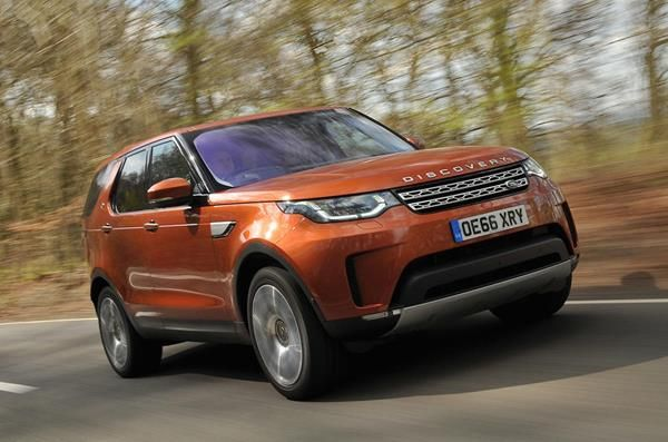 Land Rover Discovery angular front