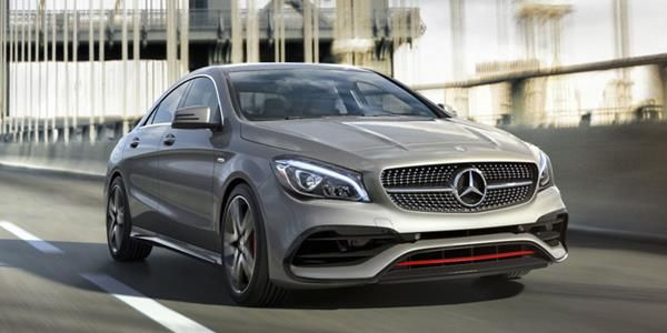 Mercedes-Benz CLA angular front