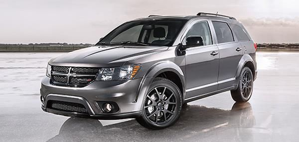 Dodge Journey angular front