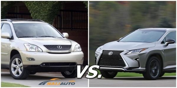 Lexus RX 330 vs Lexus RX 350: Your choice?