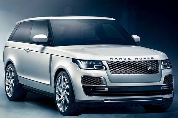 Land Rover Range Rover SV Coupé 2019 angular front