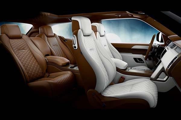 Land Rover Range Rover SV Coupé 2019 interior