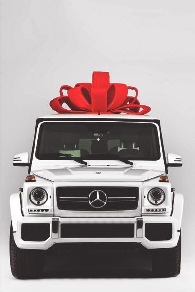 Mercedes-Benz G-Wagon gift