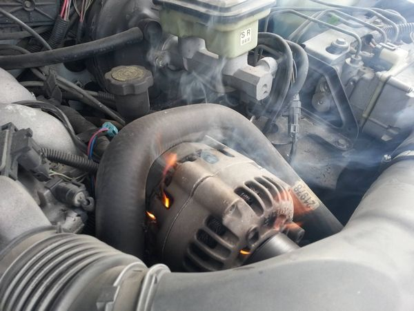 malfunctioning alternator