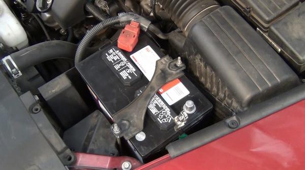 faulty car battery
