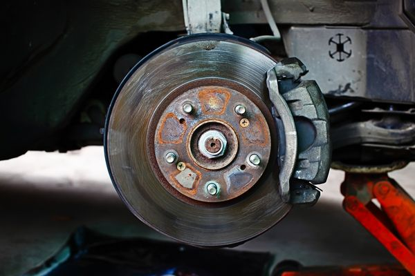 broken car brakes
