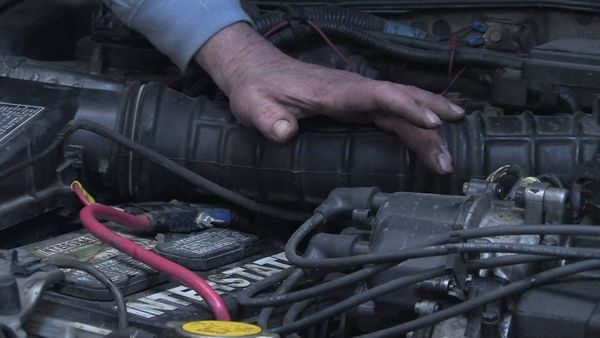 Defective starter motor