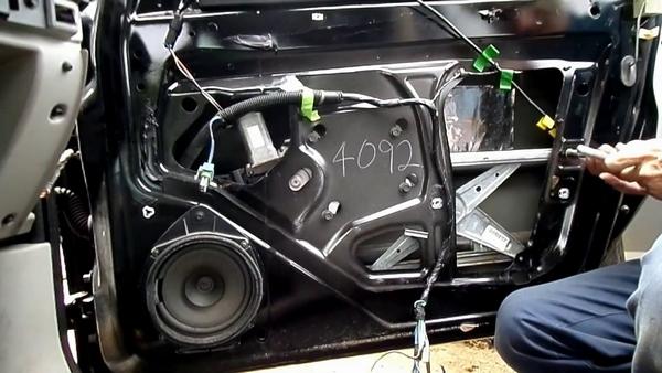 broken window motor/regulator