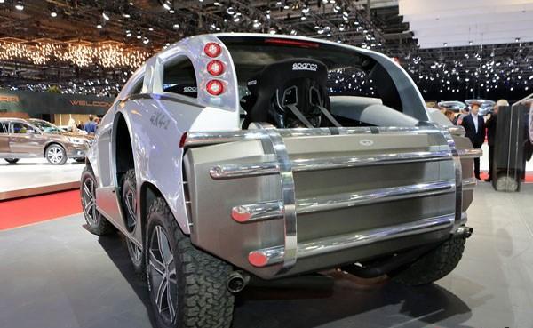 The Sbarro 4x4+2 SUV