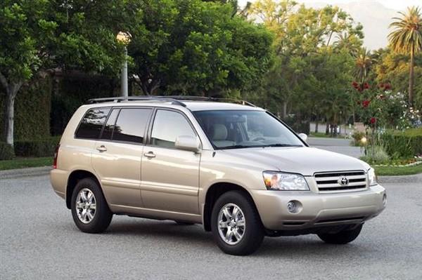 Toyota Highlander 2005 angular front