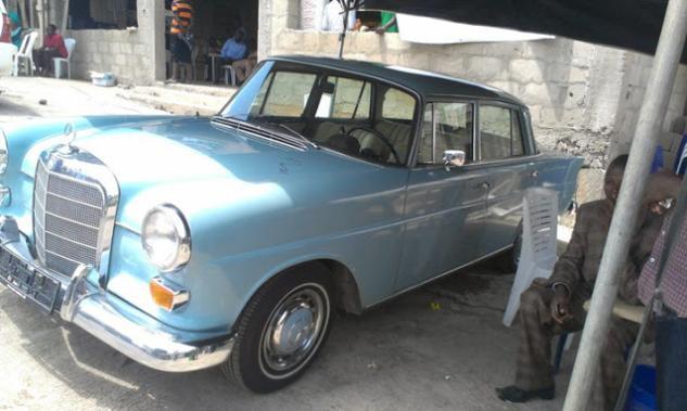 a Mercedes-Benz 220 S 1957