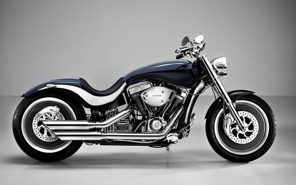 Lauge Jensen 'Viking' -  Fisker's motorcycle