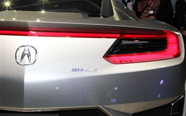 Acura NSX badge