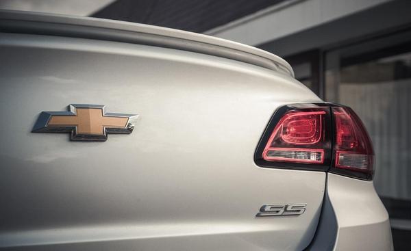 Chevrolet SS badge