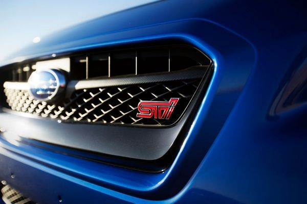 Subaru STI badge
