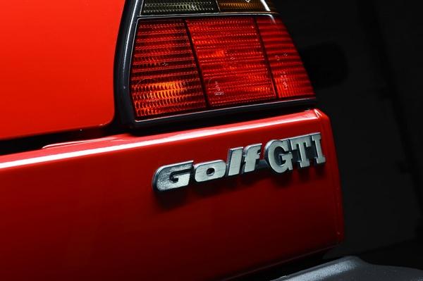 Volkswagen Golf GTI badge