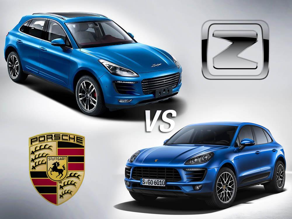 Porsche Cayenne vs Zhongtai