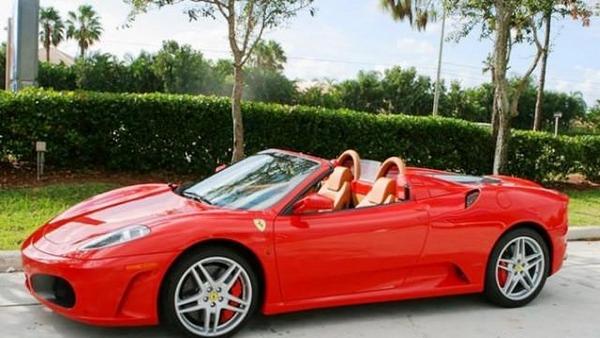 Ferrari F430 Spider angular front