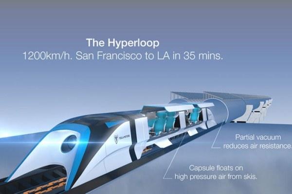 Hyperloop bus