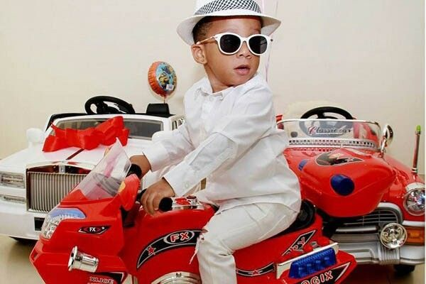 Toyin Lawani's son, Lord Maine owns a lot of upscale cars