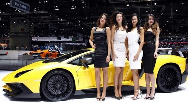 Lamborghini and girls