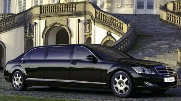 Limousine of Russian President Vladimir Putin