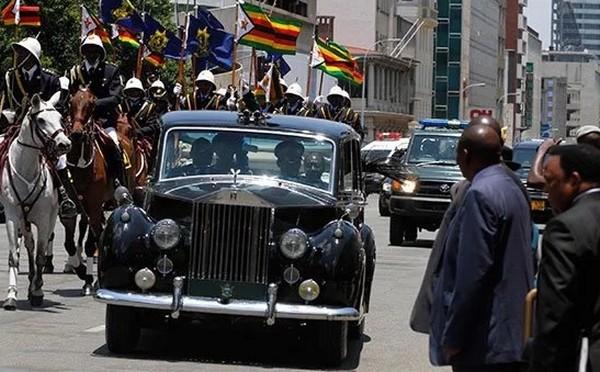 Rolls Royce of Robert Mugabe