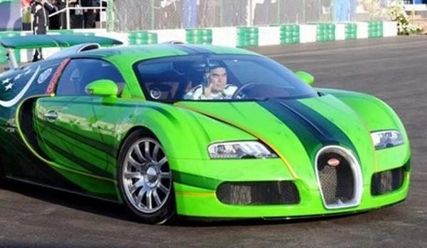 Bugatti Veyron of Turkmenistan President Gurbanguli Berdymukhamedov