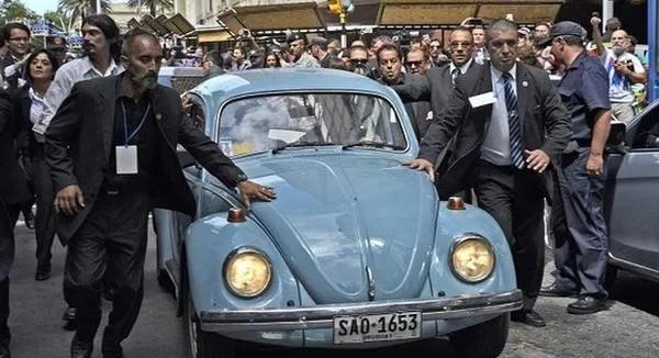 Volkswagen Beetle of Uruguay's president