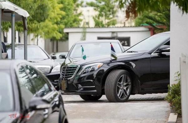 Mercedes-Benz, President Buhari's official car