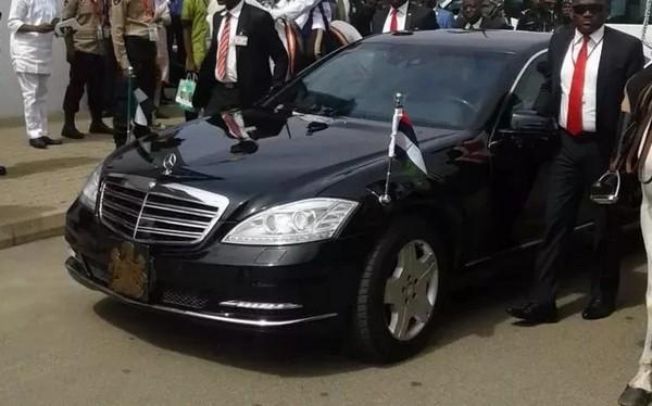 Goodluck Jonathan's Mercedes Benz