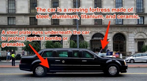 Donald Trump's Cadillac One
