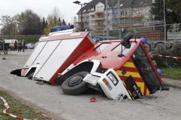 the world's weirdest car accidents