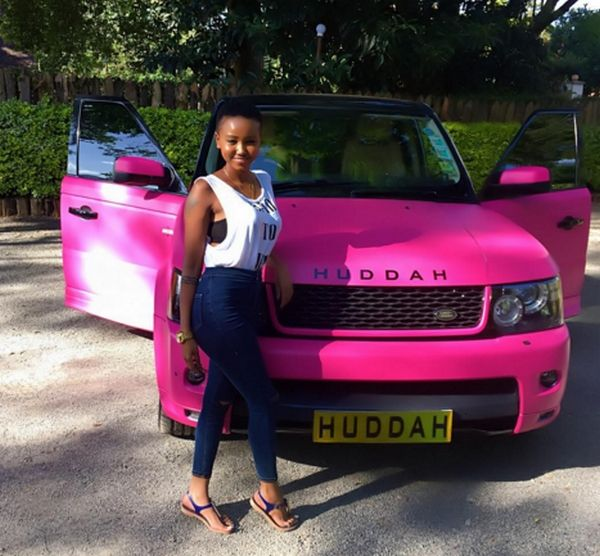 a Nigerian girl and her car