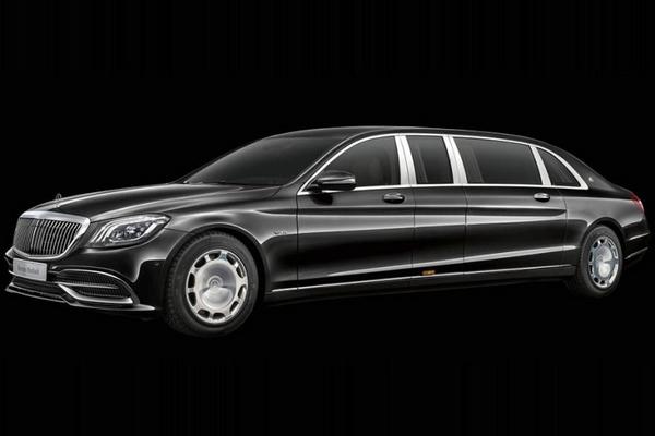 2019 Mercedes-Maybach S 650 Pullman angular front