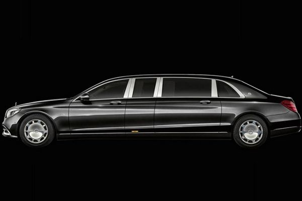 Mercedes-Benz Maybach S650 Pullman 2019 side view
