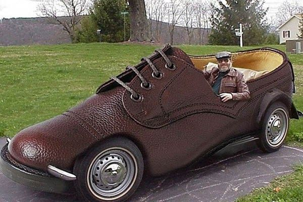 The most bizarre vehicles ever designed