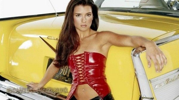 Danica Patrick also works as a model.