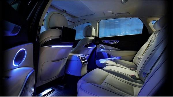 The lighting system in the Kia K9