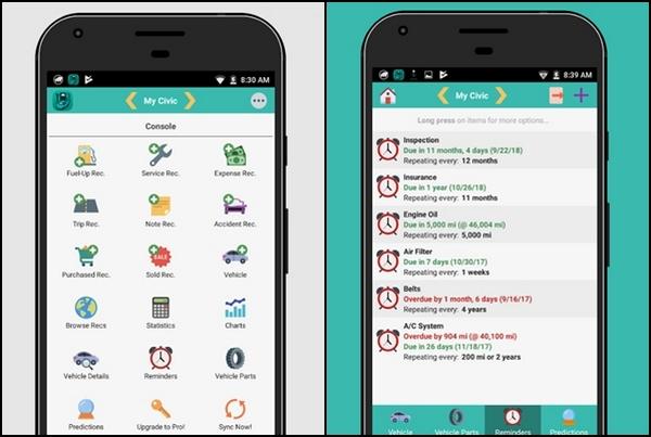 aCar app
