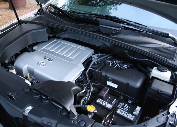 Lexus 2010 RX 350 engine