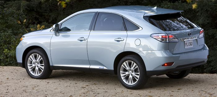 The Exterior Of The RX 350 2010 Still Retains The Conservative And  Middle Class Look Of A Lexus
