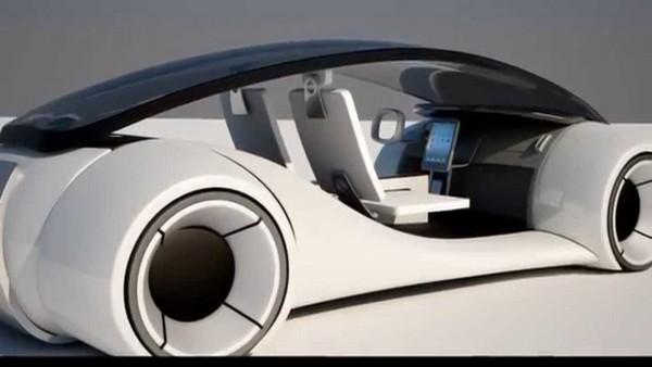 The rear view of Titan iCar