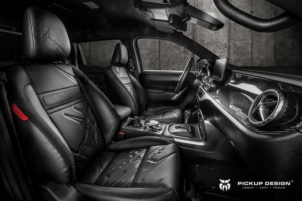 The front seats of the X- Class EXY