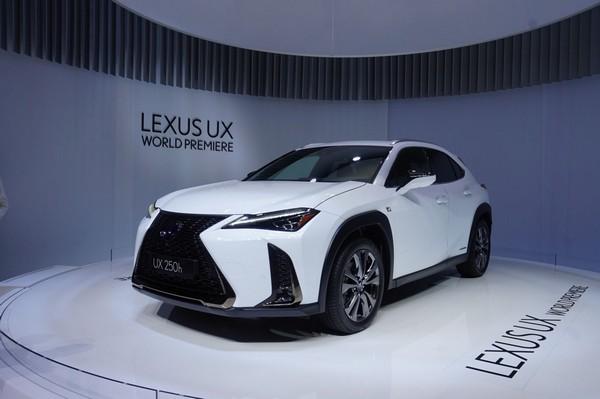 Lexus UX 2019 at Geneva Motor Show 2018