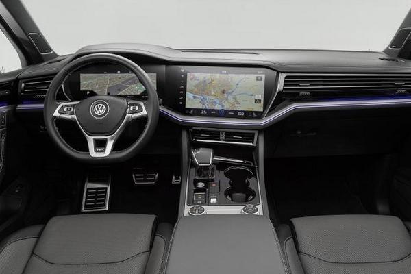 Volkswagen Touareg 2019 dashboard
