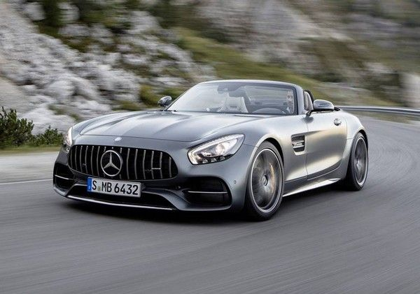 the Mercedes- AMG GT C Roadster