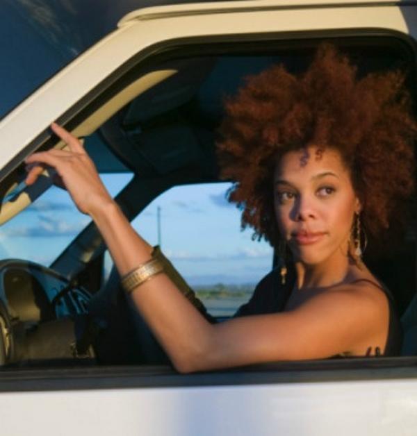 a Nigerian girl driver