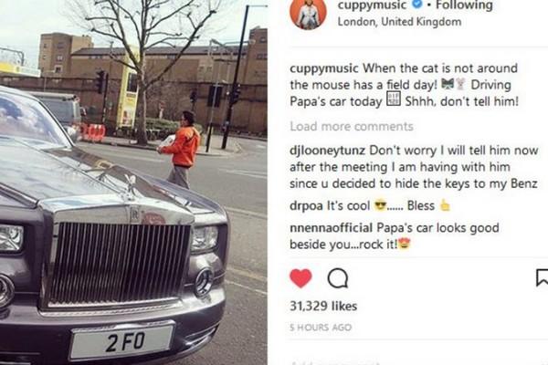 DJ Cuppy's post on Instagram