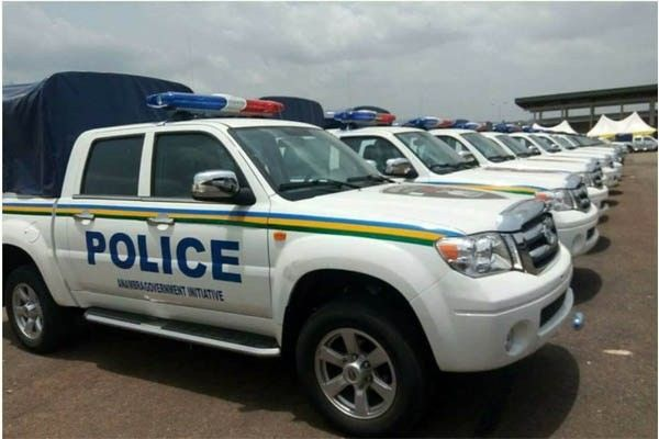Trucks distributed to the Anambra Police